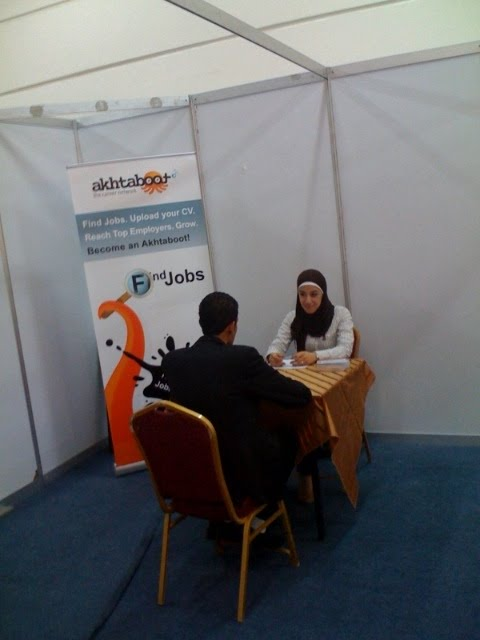 Akhtaboot Sponsors the Career Wellness Area at INJAZ 8th Annual Job