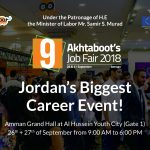 Akhtaboot's 9th Job Fair 2018 to Launch on the 26th and 27th of September